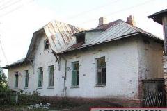 Трубетчино. Левый флигель усадебного дома. Фото автора. 2002 г.