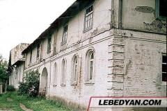 Трубетчино. Жилые и хозяйственные постройки. Фото А.Ю. Клокова. 1988 г.