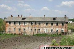 Трубетчино. Общежитие для служащих и рабочих имения. Фото автора. 2002 г