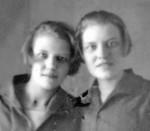 Зинаида и Серафима Гроздовы. 1920-е гг.