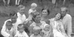 на даче у Григория Александровича. 1938 год.