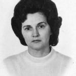 Вера Григорьевна Мозговая (Гроздова). 1960-е гг.
