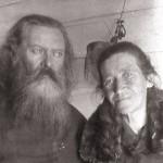 Младший сын о. Павла - о. Николай Индолев и матушка Екатерина Ивановна. 1928 г., Владивосток.