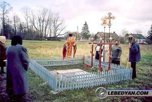 Молебен в память 100-летней кончины о. Павла. Ст. Ракитино, апрель 2007 г.