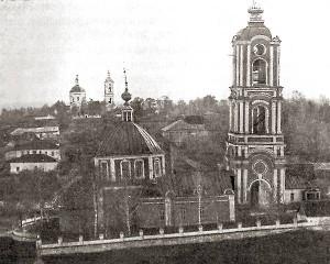 Церковь Рождества Богородицы в Лебедяни