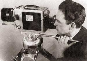Изобретатель киноаппаратуры В.Д. Константинов. Фото 1930-х гг.