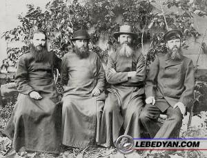 Фото. Братья Минервины, фото из семейного архива, 1890-е годы (слева направо – Петр, Николай, Александр, Михаил)