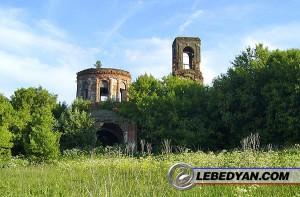 Фото. Никитинская церковь села Тютчево Лебедянского уезда, фото автора, 2006 г.