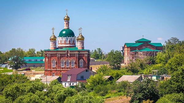 Сезёновский женский монастырь, Лебедянский район