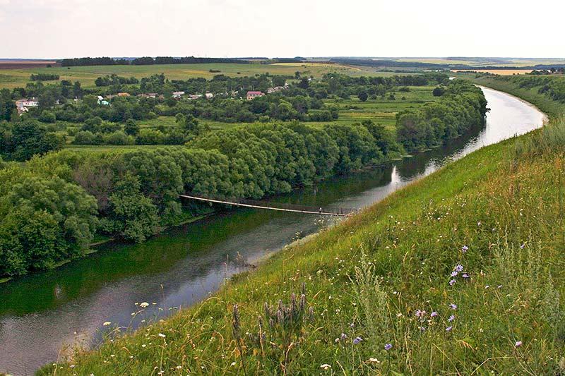 мост в Волотово