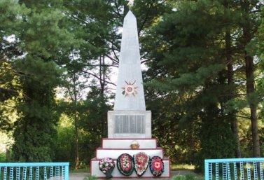 Памятник односельчанам в селе Вторая Куликовка