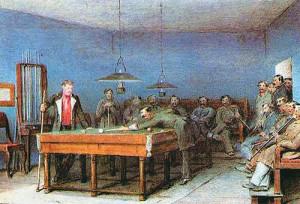 Рисунок П. П. Соколова к рассказу И. Тургенева «Лебедянь»