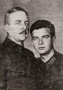 Евгений Александрович Шиловский с сыном Евгением