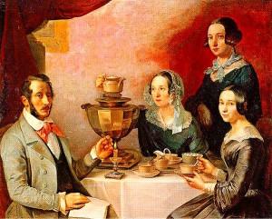 Семейный портрет. Т.Е. Мягков. Государственная Третьяковская галерея.
