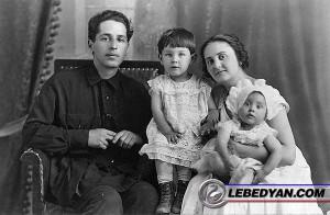 Н.А. и Т.Н. Нероновы с детьми (1931 г.). Фото из семейного архива Т.Н. Нероновой.