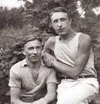 Николай Романовский с братом Константином.