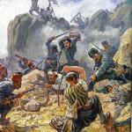 «Бой за Шипку». Художник Д. Гюдженов (1891 – 1979). Болгария