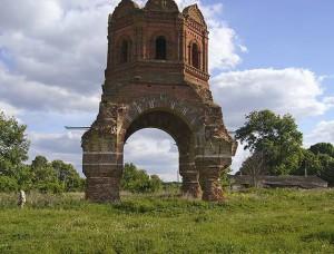 Георгиевская церковь села Выползово, фото автора, 2006 г.