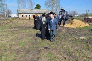 рабочая встреча в с.Шовское 18 апреля 2016г.