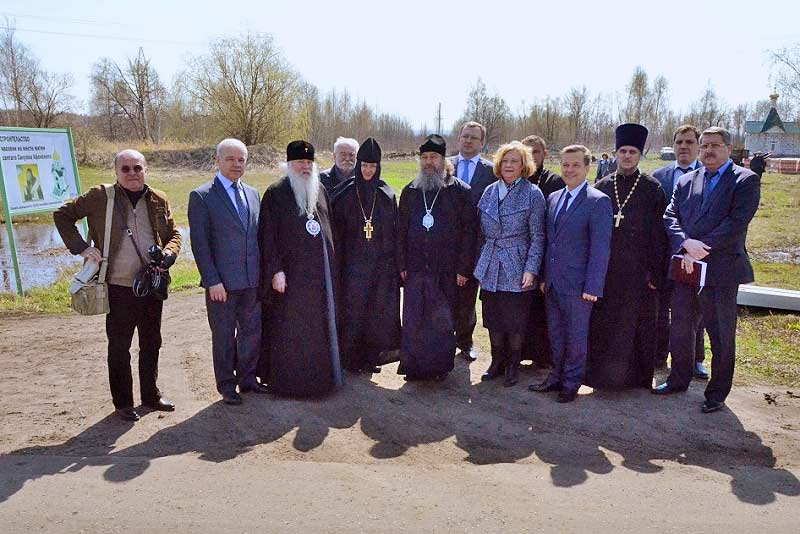 участники рабочей встречи в с.Шовское (18.04.2016)