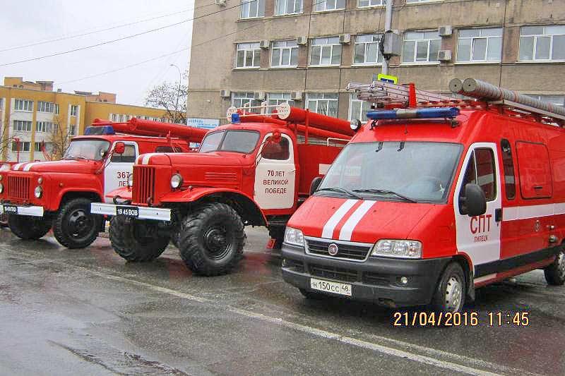 смотр пожарной техники