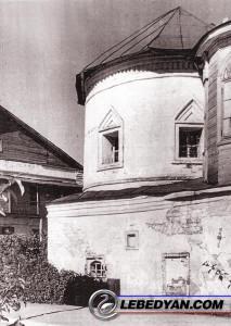 Ильинская церковь Свято-Троицкого монастыря в Лебедяни