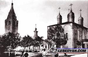 Лебедянский Свято-Троицкий монастырь (открытка 1900-х гг.)