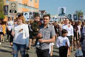 День Победы 2016 года в Лебедяни