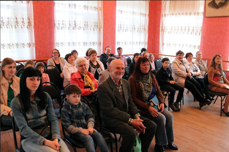 зрители на концерте в музыкальной школе имени К.Н. Игумнова 4 мая 2016 года