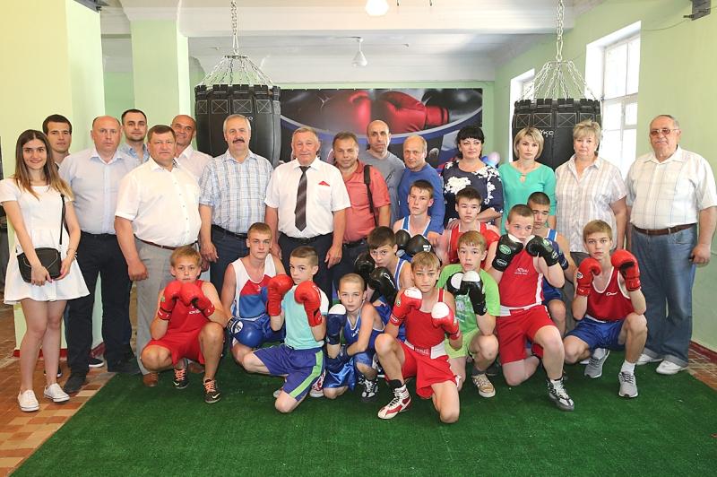 открытие боксерского клуба в Лебедяни