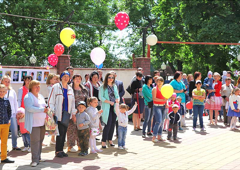 День защиты детей в Лебедяни