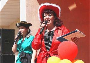 праздник в горпарке Лебедяни