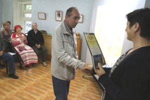 Андрей Телегин (награждение)