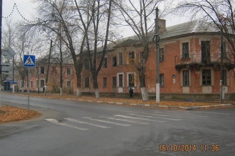 застройка поселка ЛМЗ в Лебедяни