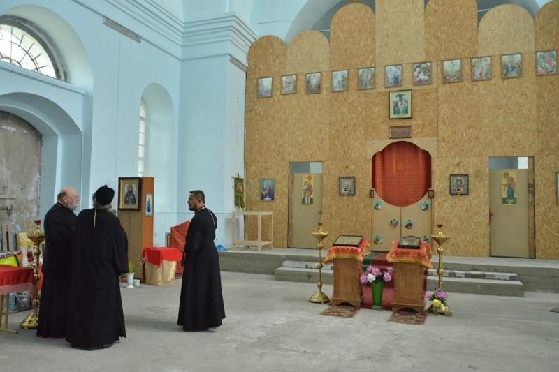 Христорождественский храм в Шовском