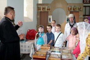 воспитанники воскресной школы посетили Шовское