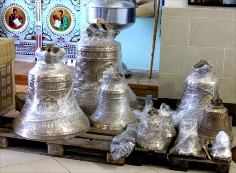 колокола для церкви в Волотово