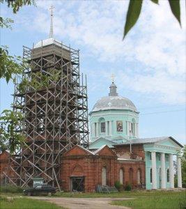 Троицкая церковь в селе Волотово
