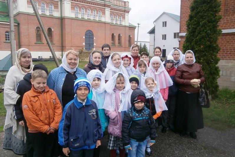 паломники из Ельца в Троекурово