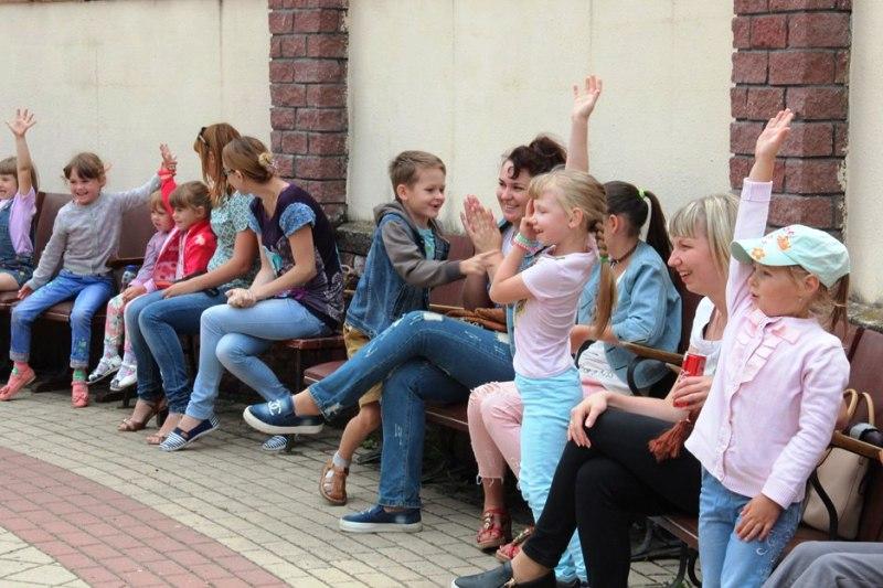 детская программа в День города Лебедяни