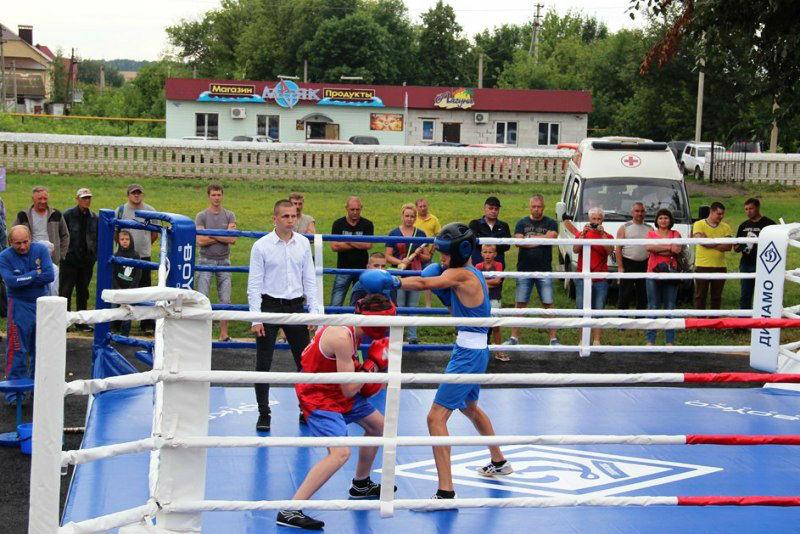 первенство по боксу в лебедяни