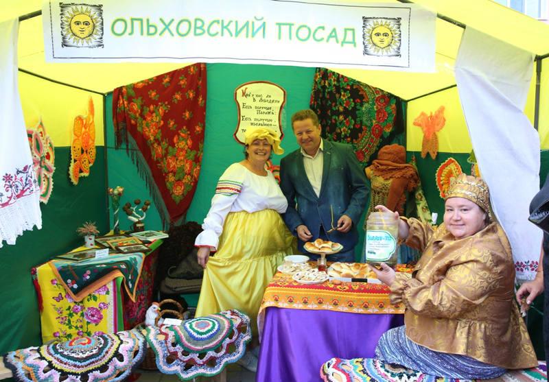 Ольховское поселение на ярмарке в Лебедяни