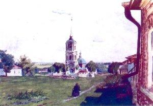 картина Бориса Кустодиев а Лебедянь