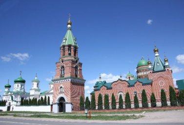 Троекуровский Свято-Илларионовский женский монастырь, село Троекурово, Лебедянский район