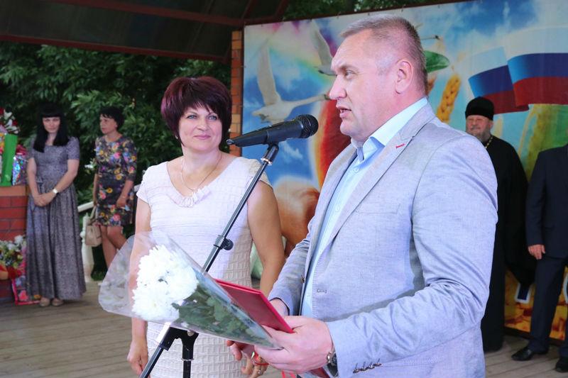 награждение М.И. Ефремовой
