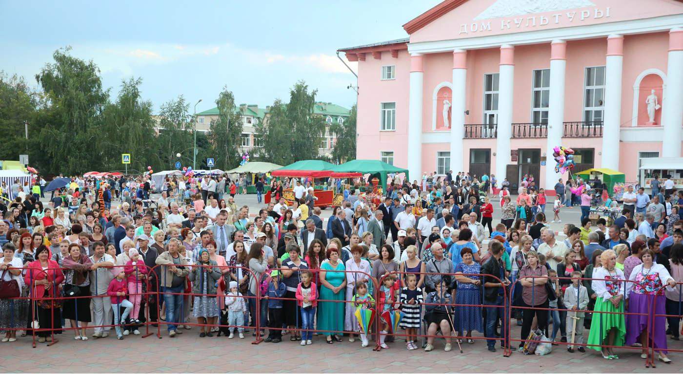 день города в Лебедяни 23 июля 2016