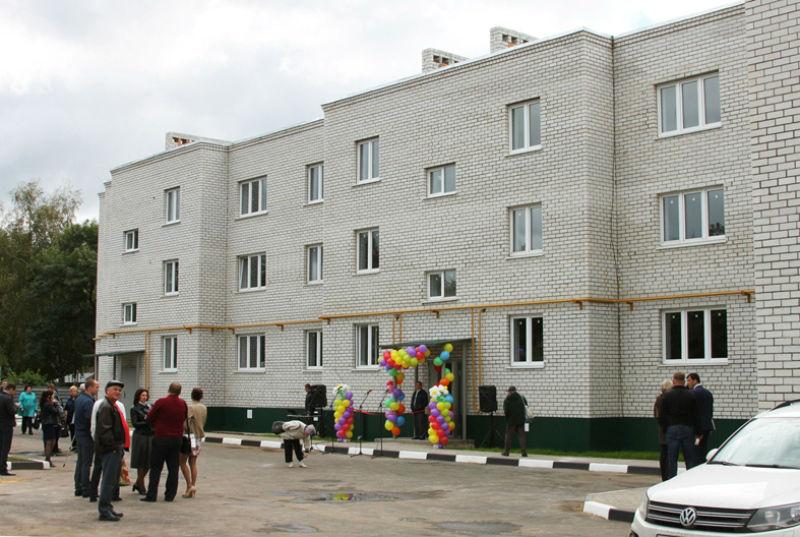 В Лебедяни вручали ключи от новых квартир