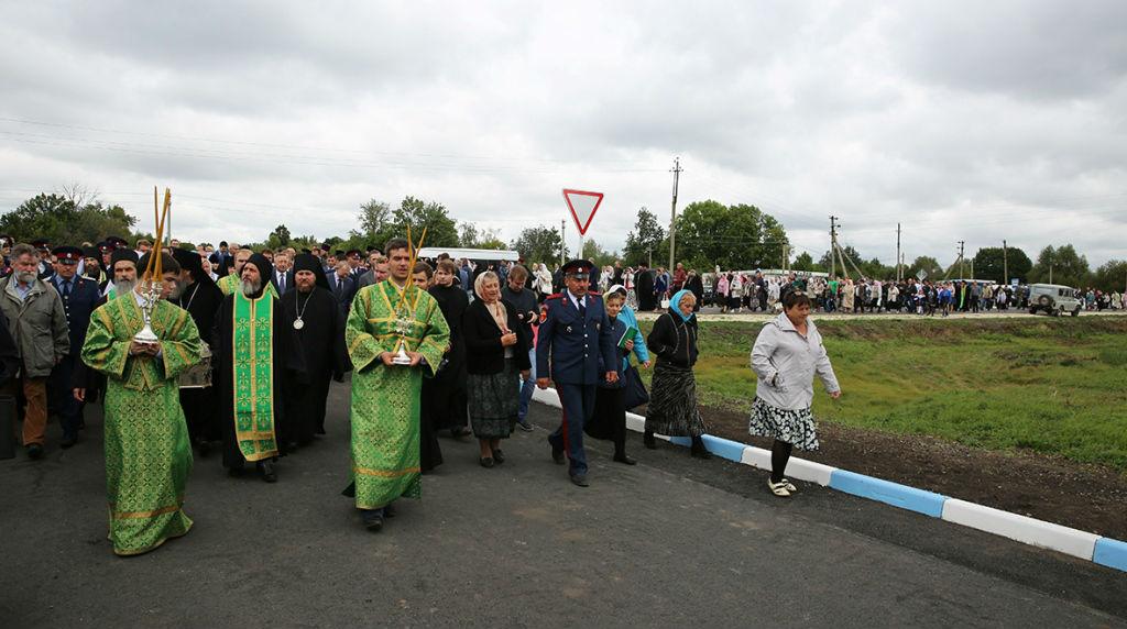 В Шовском отметили 150-летие со дня рождения Преподобного Силуана Афонского
