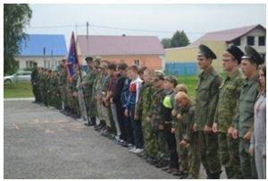 слет казачьей молодежив Ольховце Лебедянского района
