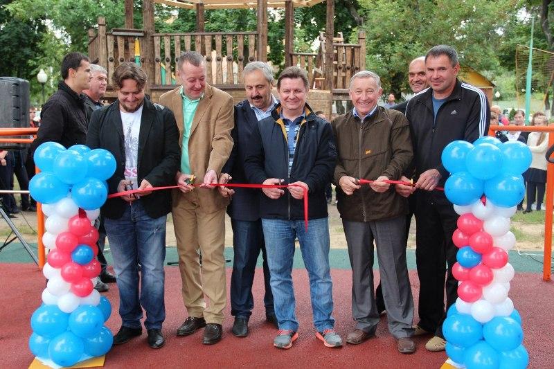 10 сентября в Лебедяни открыли новый воркаут-комплекс
